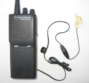 Radio with earpiece